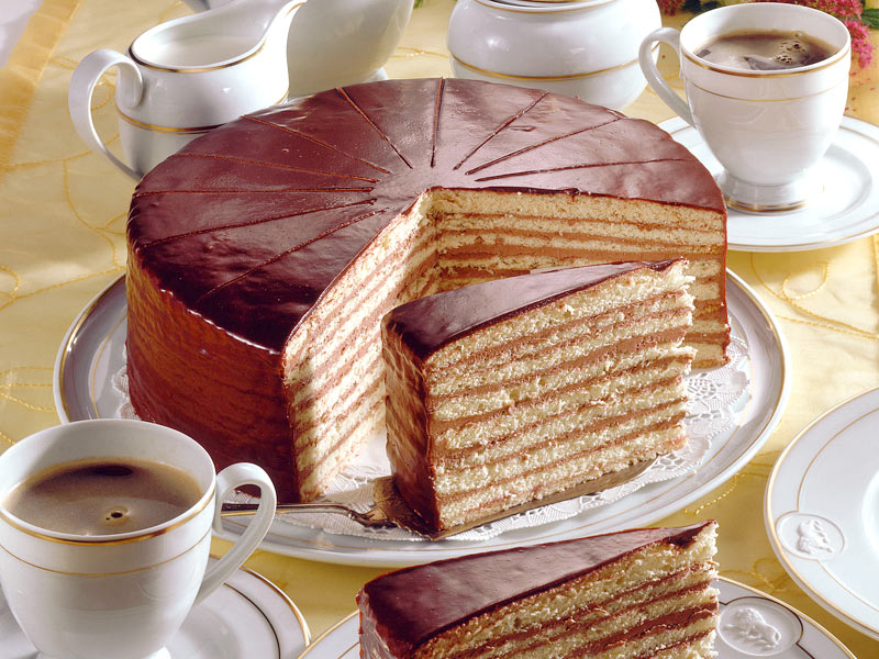 Prince Regent Layer Cake Recipe