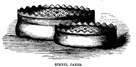 foodsofengland shrewsbury simnel