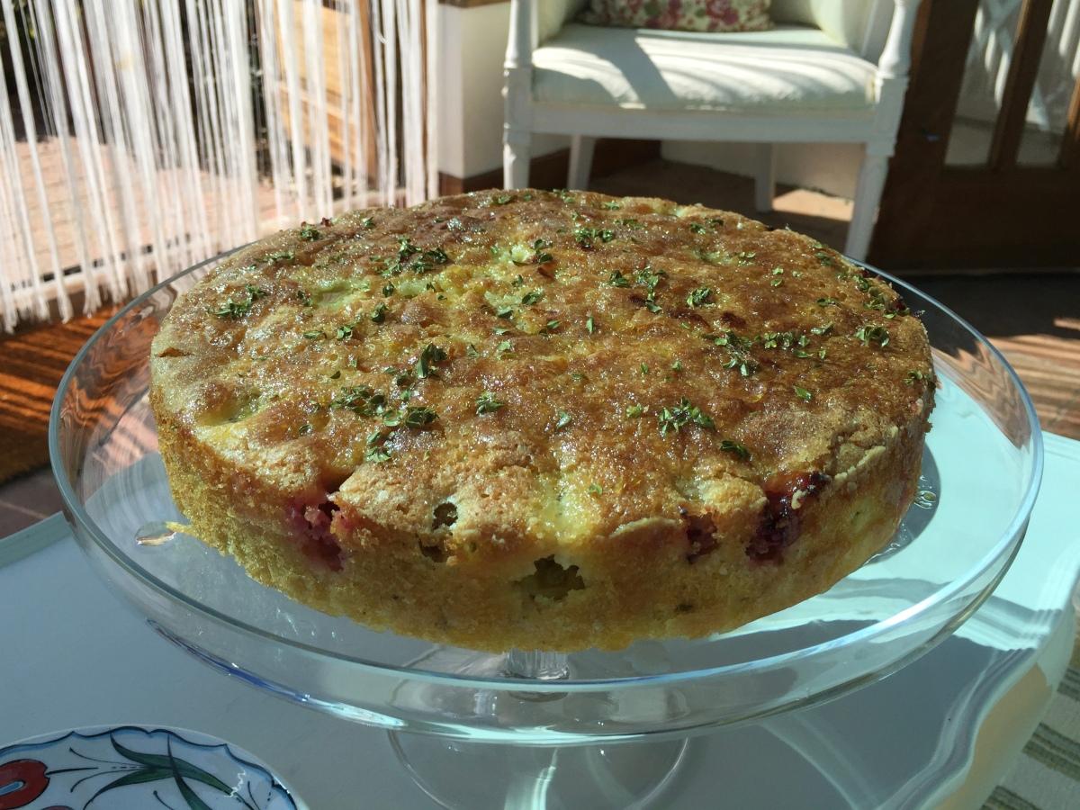 Gooseberry Loaf Cake